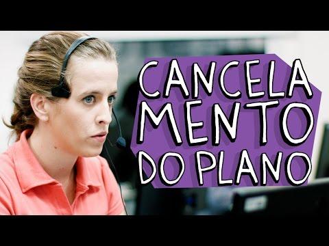 Cancelamento plano