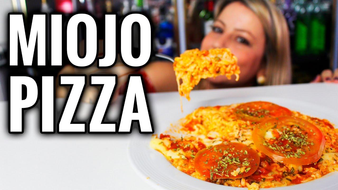 Como fazer Miojo Pizza