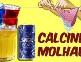 Calcinha Molhada com Skol Beats