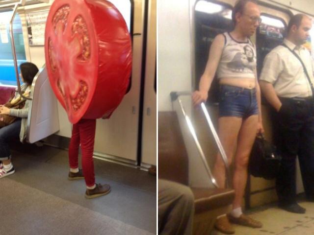 Pessoas no metrô 15