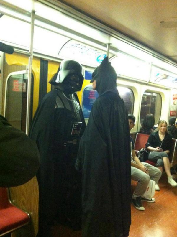 Pessoas no metrô 8