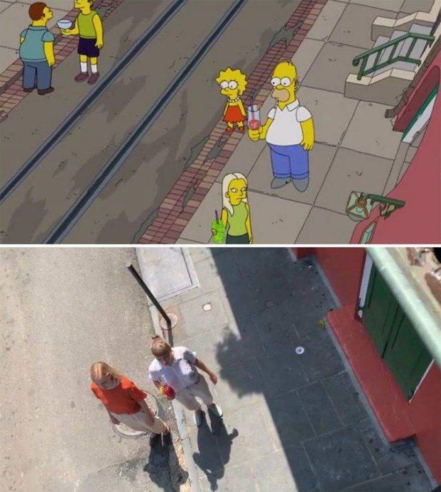 """Amigas recriam cenas de """"Os Simpsons"""" em Nova Orleans 22"""