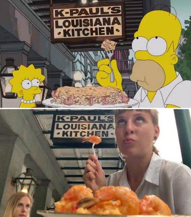 """Amigas recriam cenas de """"Os Simpsons"""" em Nova Orleans 18"""