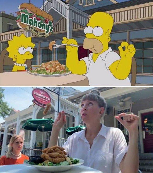 """Amigas recriam cenas de """"Os Simpsons"""" em Nova Orleans 26"""