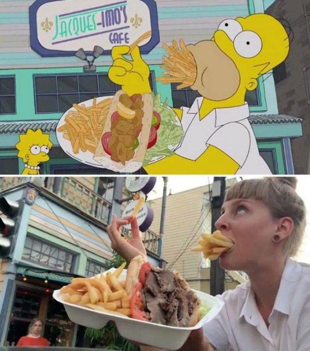 """Amigas recriam cenas de """"Os Simpsons"""" em Nova Orleans 19"""