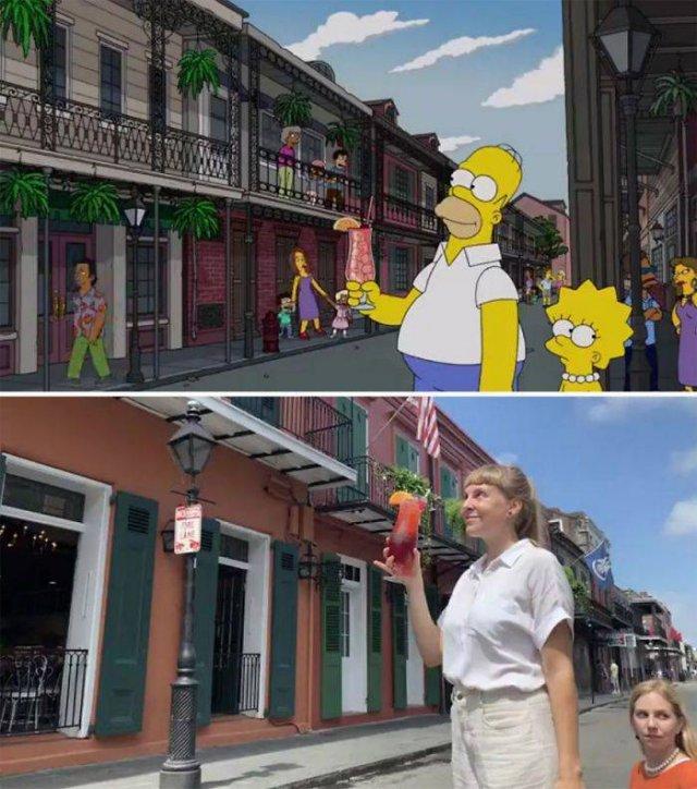 """Amigas recriam cenas de """"Os Simpsons"""" em Nova Orleans 17"""