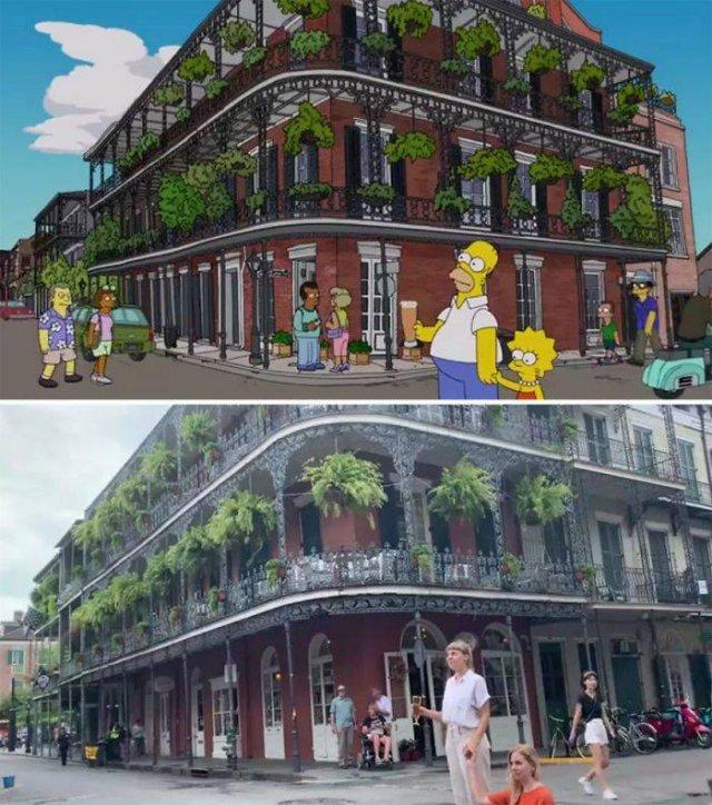 """Amigas recriam cenas de """"Os Simpsons"""" em Nova Orleans 9"""