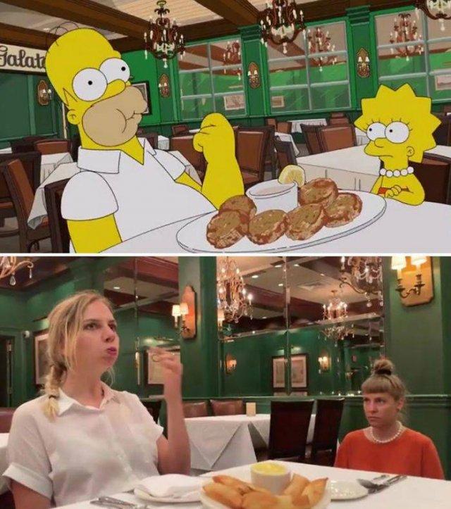 """Amigas recriam cenas de """"Os Simpsons"""" em Nova Orleans 20"""