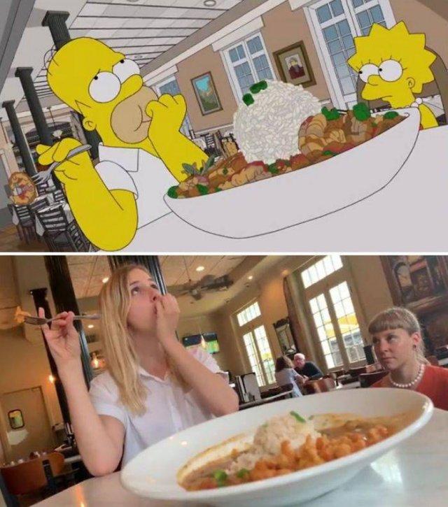 """Amigas recriam cenas de """"Os Simpsons"""" em Nova Orleans 27"""