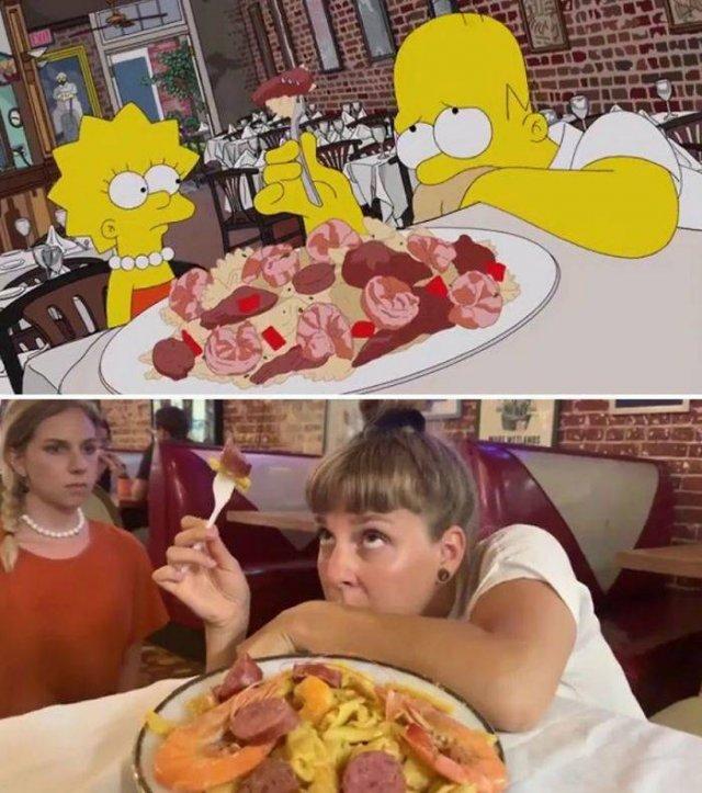"""Amigas recriam cenas de """"Os Simpsons"""" em Nova Orleans 24"""