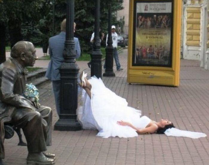 Fotos engraçadas de casamento 10