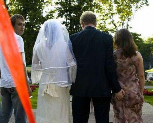 Fotos engraçadas de casamento 5