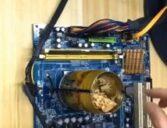 Uma latinha e um processador